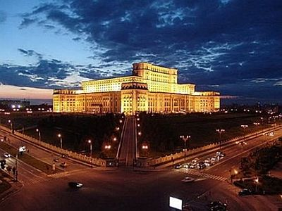 The Palace of Parliament, Bucharest