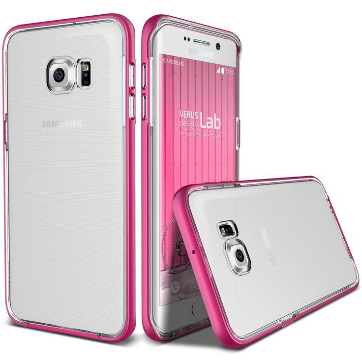 Custodia Galaxy S7 Edge - [ VRS Design - Crystal Bumper ]