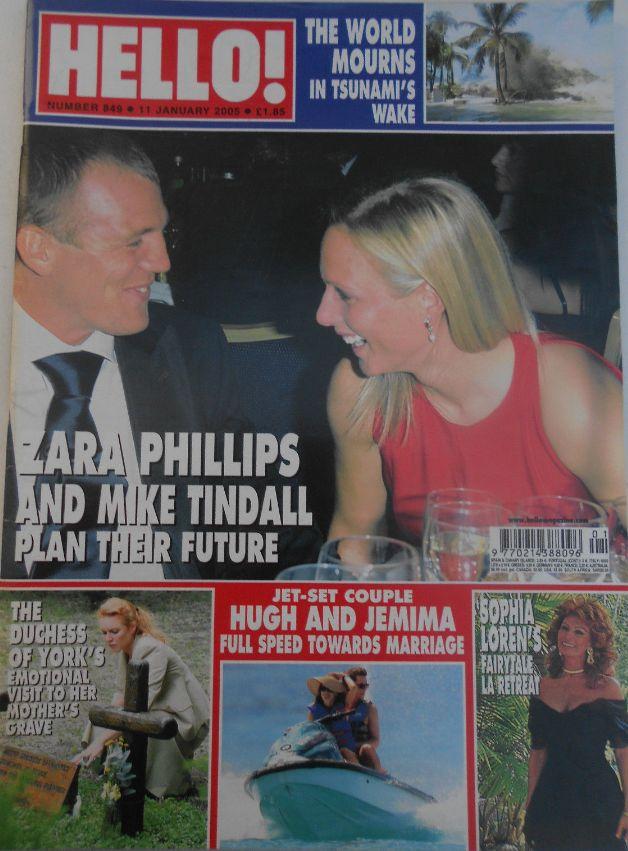 HELLO magazine # 849 Jan 2005 -The Duchess of York