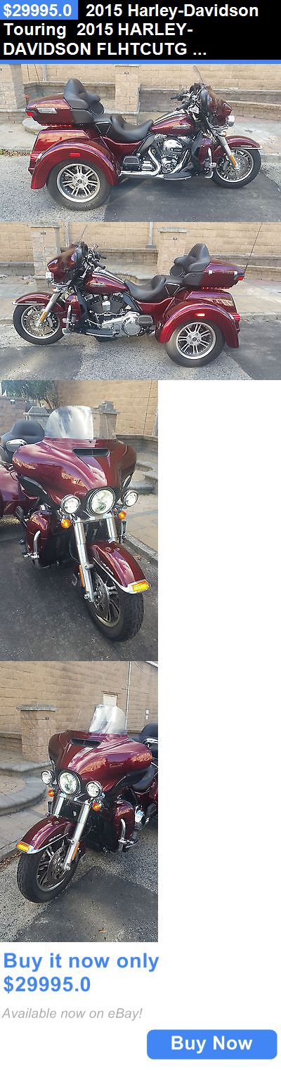 Motorcycles: 2015 Harley-Davidson Touring 2015 Harley-Davidson Flhtcutg Tri-Glide Ultra BUY IT NOW ONLY: $29995.0