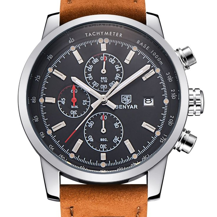 Cheap watch 4gb, Buy Quality watch bands for vintage watches directly from China watch bag Suppliers: BENYAR Fashion Chronograph Sport Mens Watches Top Brand Luxury Quartz Watch Reloj Hombre 2017 Clock Male hour relogio Masculino