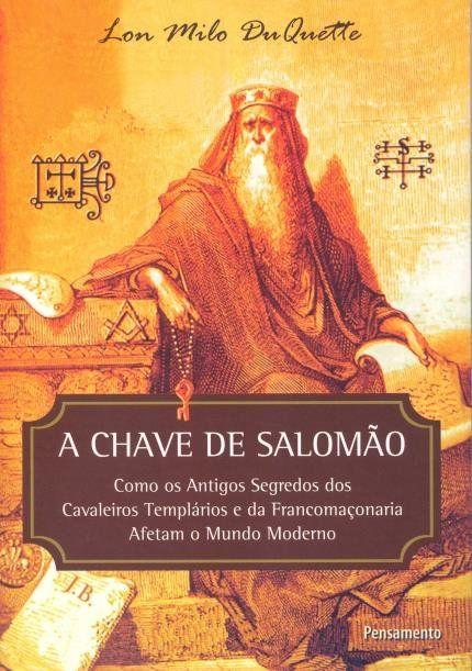 A Chave De Salomao Livros Maconicos Livros De Filosofia