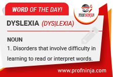 We believe in sharing, the things we love! #wordoftheday #English #dictionary #vocabulary #word #profninja