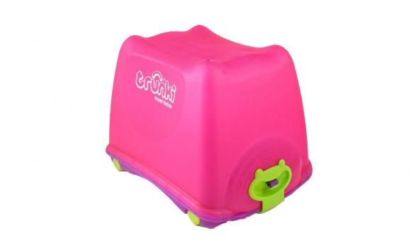 Pink Toy Box By Trunki