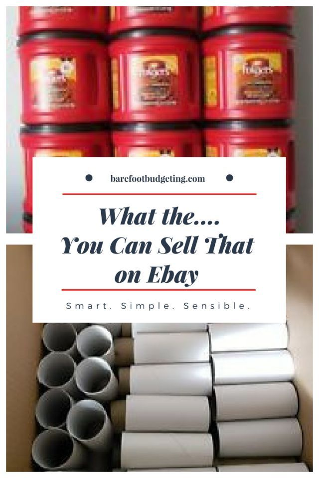 You Can Sell WHAT on Ebay? – Advice for Moms and Mompreneurs