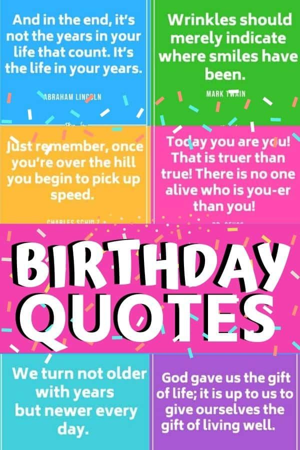 30 Birthday Quotes 30th Birthday Quotes Happy Birthday To Me Quotes Birthday Wishes For Myself