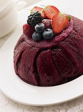 summer pudding...one of my favorite summer desserts