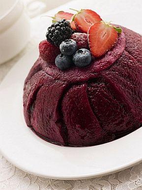 summer pudding...one of my favorite summer desserts