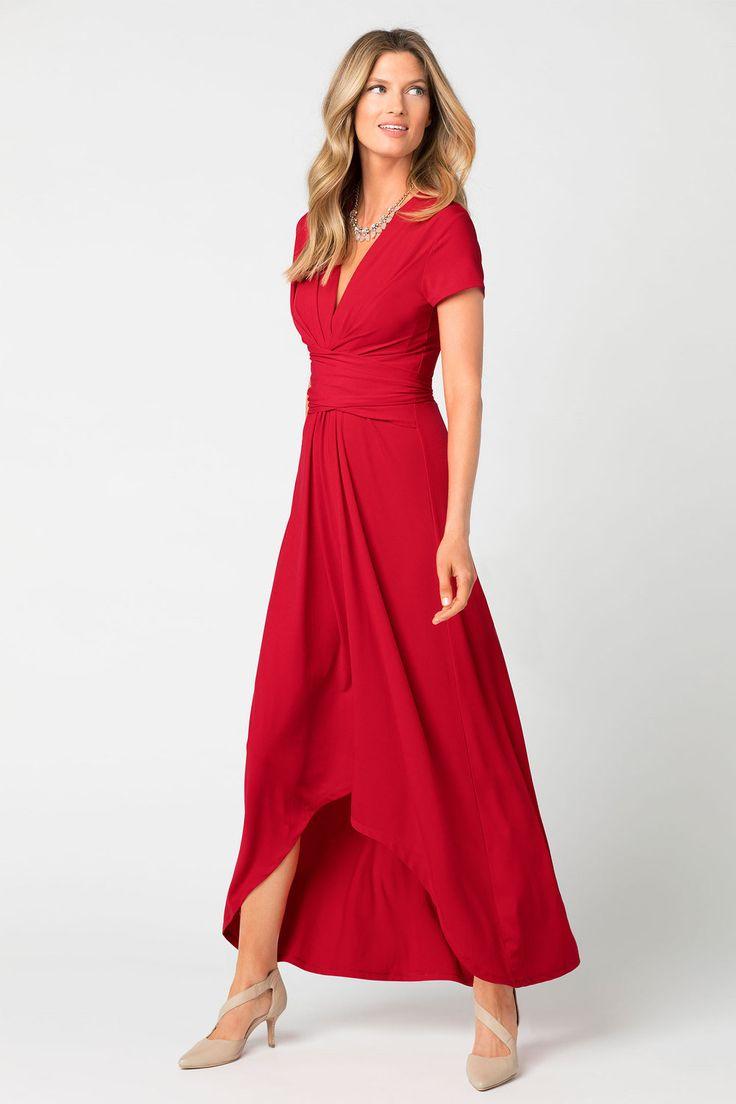 Capture Knit Wrap Dress Online | Shop EziBuy