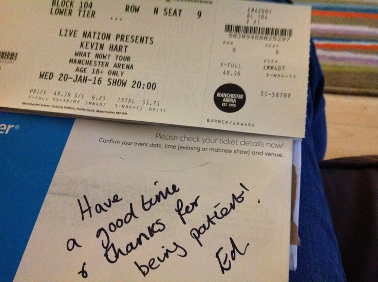 Kevin hart tickets for johns birthday 2015