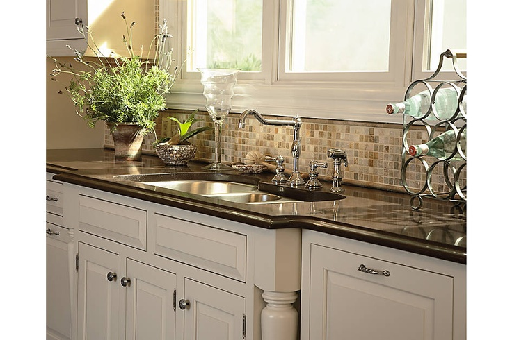 kitchen cabinets medallion cabinetry chelsea maple white chocolate and cherry ginger snap. Black Bedroom Furniture Sets. Home Design Ideas