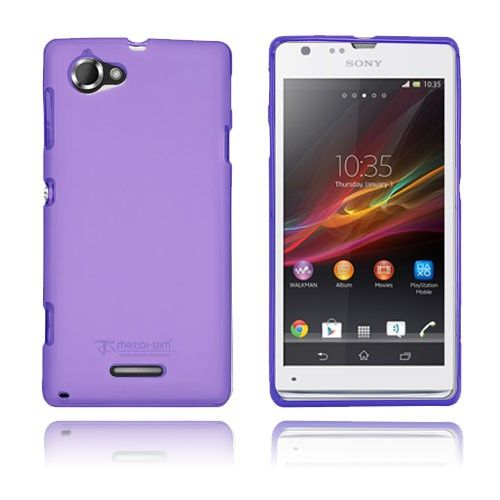 Simple (Purple) Sony Xperia L Cover