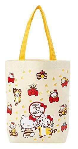 New! Raccoal x Hello Kitty Tote Bag Sanrio Japan F/S #Sanrio