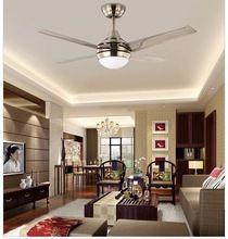 the best modern minimalist led fan lights 44inch iron leaf fan light ceiling bedroom ceiling fan