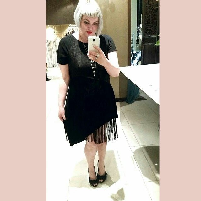 Comfy jersey dress with fringing top, made on request email meleeamelbourne@gmail.com