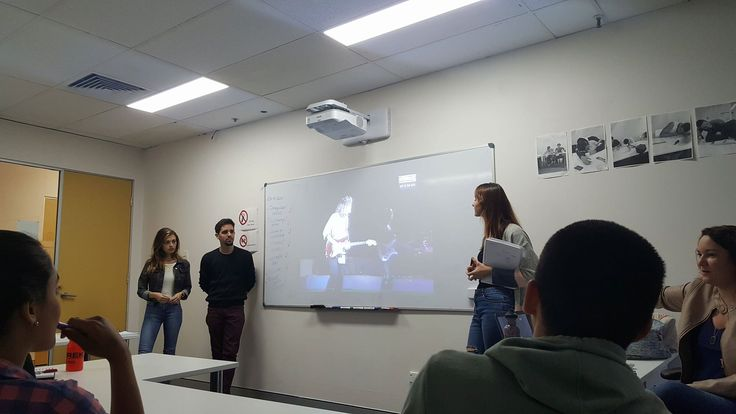 Ms. Dilly makes sure that all her STUDENTS in general English do presentations at least once a week. This is good training for those who are going to study IELTS/EAP. #ELICOS #Australia