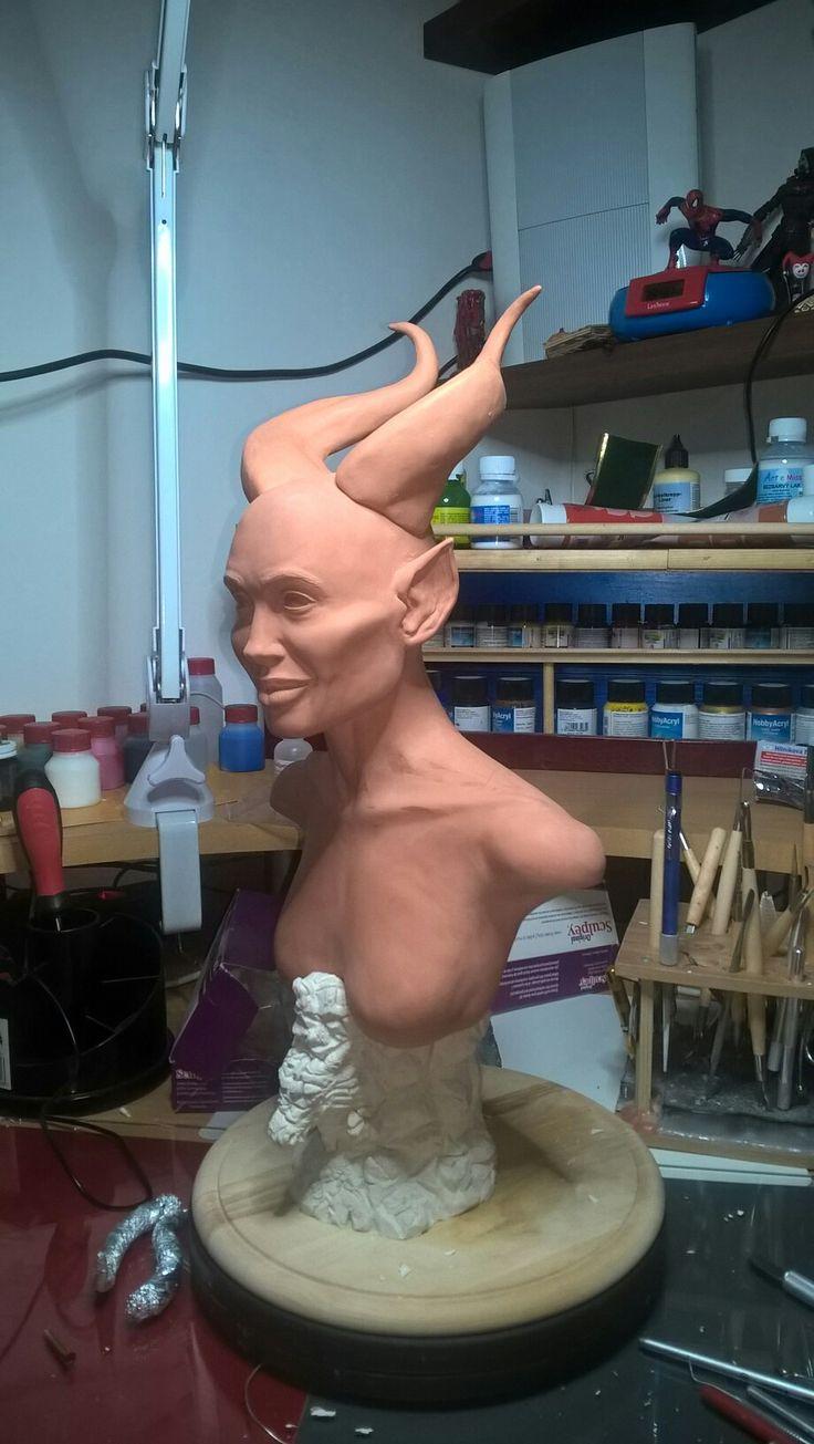 Maleficent bysta .Maleficent bust 45cm