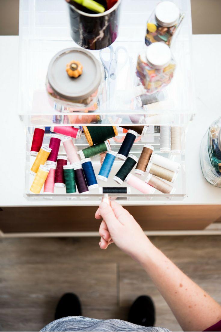 Tipps zur Organisation von Nähräumen von den Profis   – Sewing Room Redo