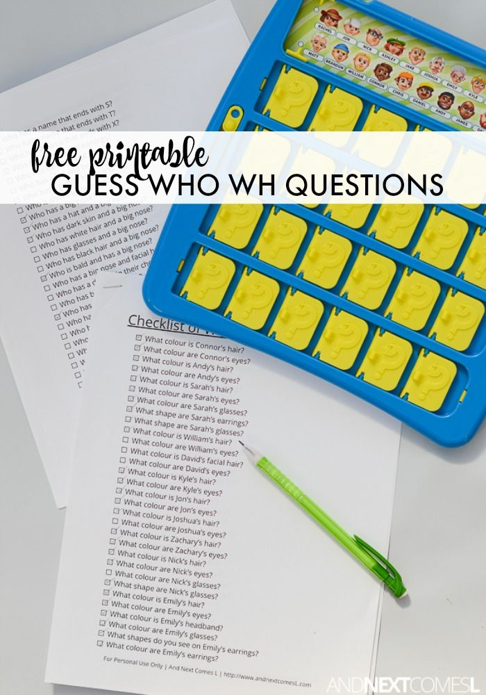 14 best Questions images on Pinterest | Speech language therapy, Wh ...