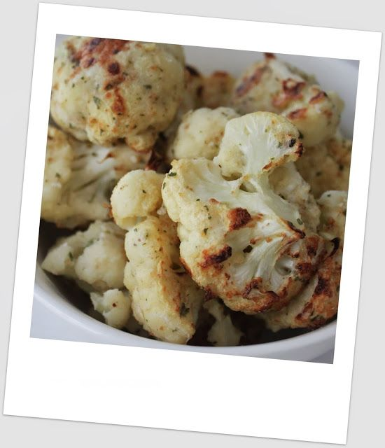 Simply Weight Watchers Recipes: Parmesan Breaded Cauliflower