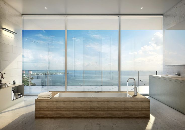 A Glass-Walled Penthouse by Bjarke Ingels Is for Sale in Miami Photos | Architectural Digest