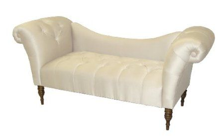 Roslyn double arm tufted chaise lounge by for Cameron tufted chaise peacock