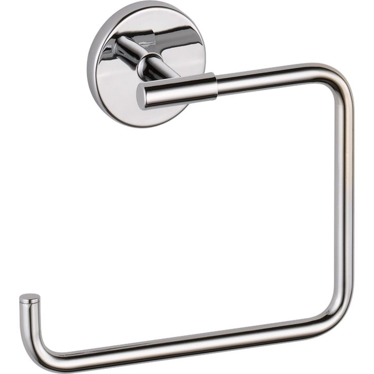 Delta Trinsic Modern Chrome Square Hand Towel Ring 590184