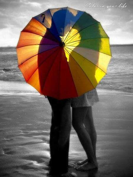 Splash Photography Color Black White Photos Rainbow Colors Mood Images Birthday Umbrellas Circles Relationships