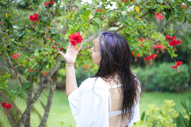 Brenda is a tropical flower goddess...