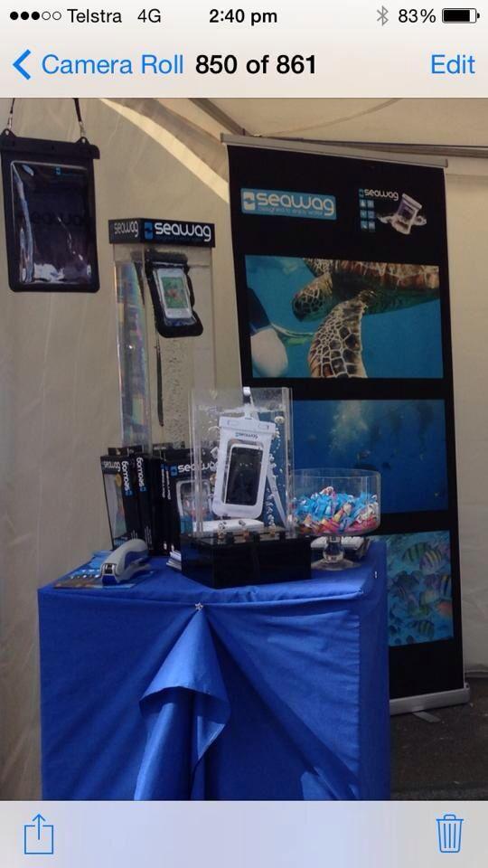 Gold Coast international Marine expo 2014 #SeawagAustralia #Smartdevices