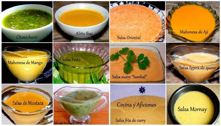M s de 1000 ideas sobre platos para acompa ar salm n en - Salsas para el pollo al horno ...