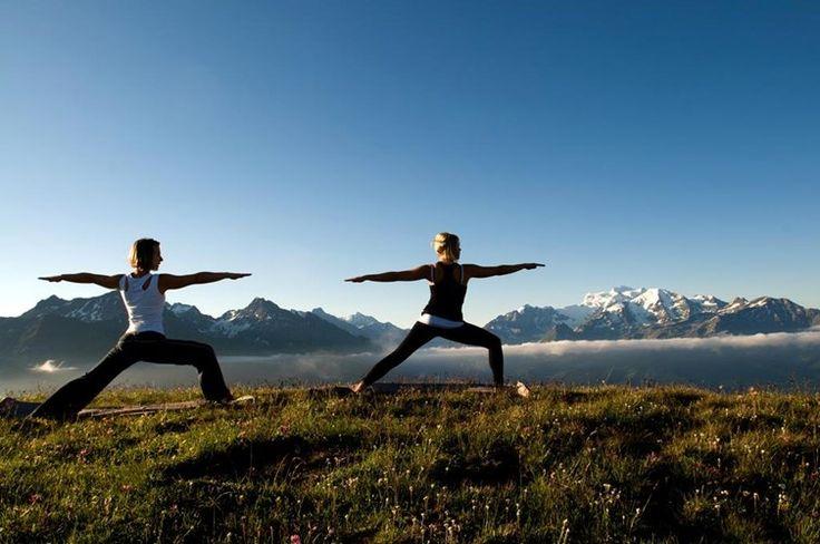Yoga in Switzerland #travel