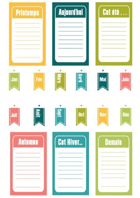 Etiquettes à imprimer !