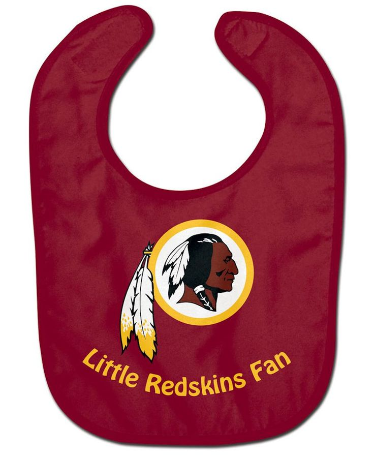 NFL fanatics get your Washington Redskins officially licensed sports tailgating gear from Where The Fans Shop. Officially licensed NFL baby bib made of two ply soft polyester front and absorbent cotto
