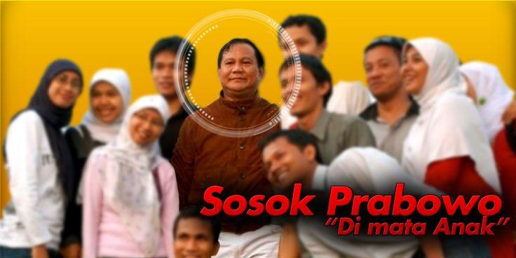 Sosok Prabowo dimata anak muda Indonesia