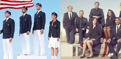 Team USA in Ralph Lauren VS. Team Great Britain in Stella McCartney