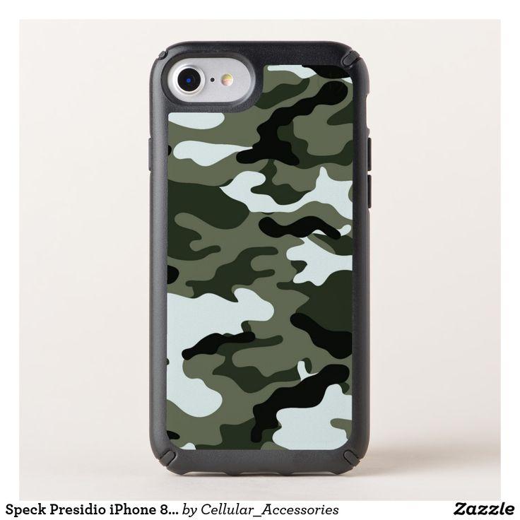 Speck Presidio iPhone 8/7/6s/6 Green Camo Case.