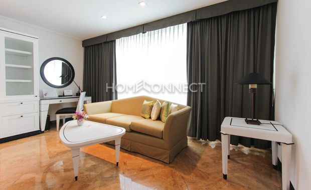 Studio Room for Rent at President Park  -  Get information of this rental & other available apartments or condos for rent, go to http://www.homeconnectthailand.com/condo-buildings-a-to-z/  This swanky studio room for rent at President Park comes with 36 square meters. Ready to move in today, this unit has a dynamic floor plan featuring premium marble floors and floor to ceiling glass windows with luxe draperies ushering a steady stream of sunlight. The main area boasts of