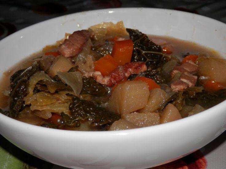 Soupe ou pot�e au chou