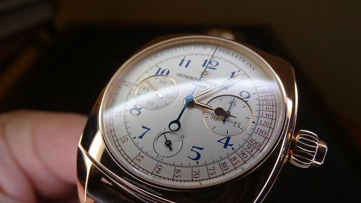 Vacheron Constatin Harmony Chronograph detalle esfera