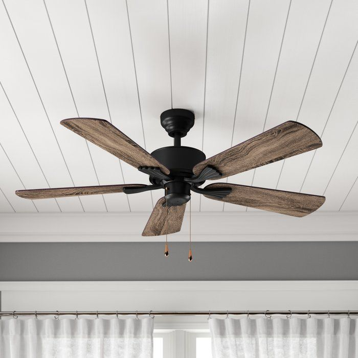 52 Ravenna 5 Blade Ceiling Fan With Remote Ceiling Fan Ceiling