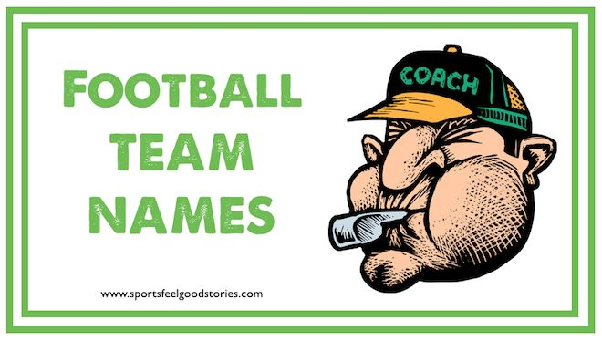 Here are several lists of football team names to help you make the best pick for your club. Funny and creative ideas for your squad. Great for Pop Warner, kids teams, youth squads and intramurals. Awesome!