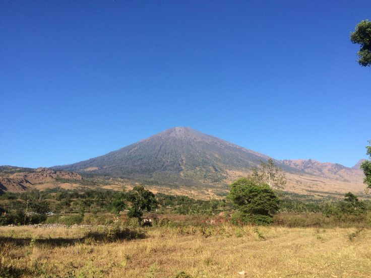 Greetings from Rinjani Mountain, Lombok - Indonesia ❤️❤️❤️