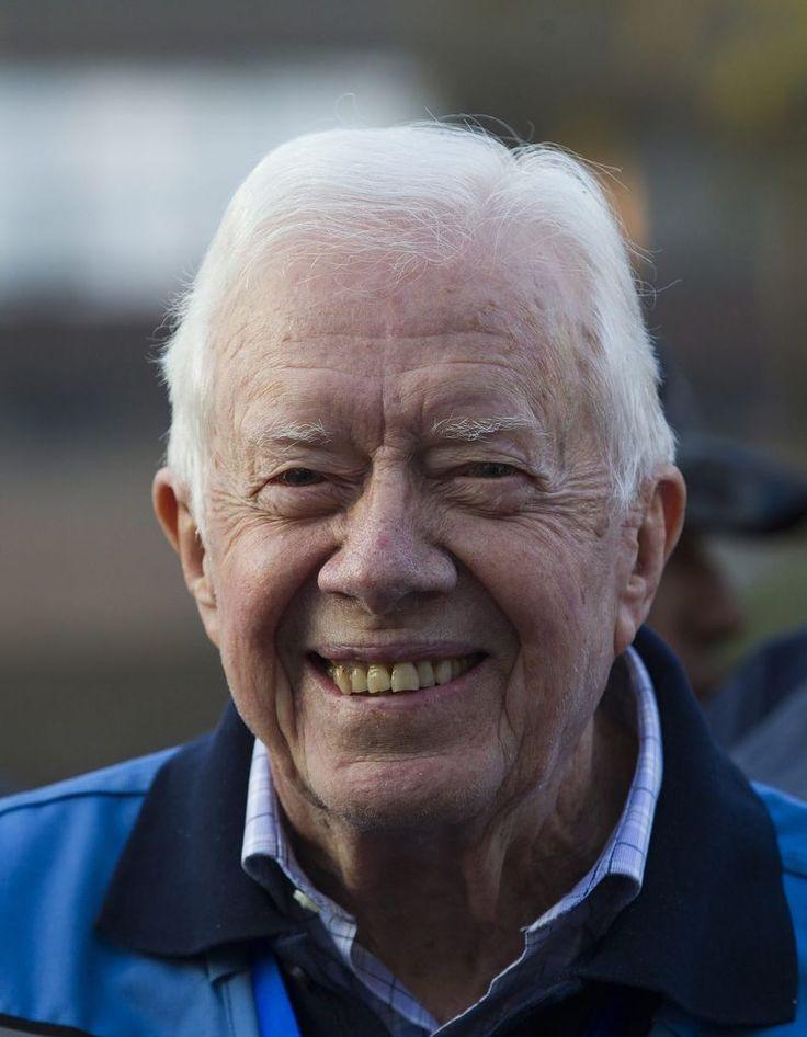 """Jimmy Carter: Der """"beste Ex-Präsident der USA"""" - Als Präsident der USA wurde Jimmy Carter zum Ende seiner Amtszeit belächelt und sogar angefeindet. Mehr zur Person: http://www.nachrichten.at/nachrichten/meinung/menschen/Jimmy-Carter-Der-beste-Ex-Praesident-der-USA;art111731,1511326 (Bild: epa)"""
