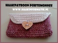 Gratis Haakpatroon Portemonnee door www.haakinformatie.nl