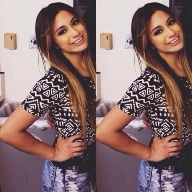 Ally Brooke from fifth harmony   I love her Aztec top