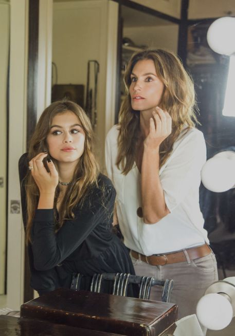Mother-daughter duo Cindy Crawford and Kaia Gerber talk about modeling and Crawford's new book: