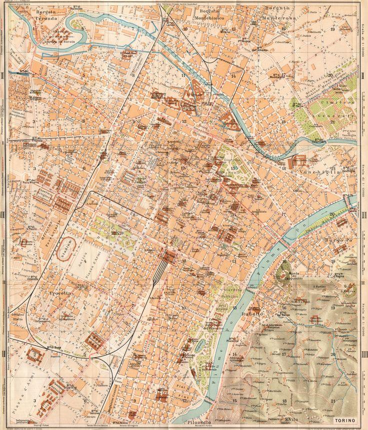 #turin #map 1914