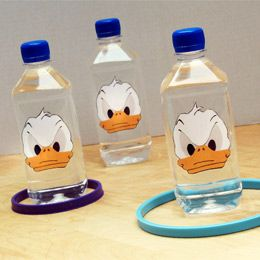 Love this idea, but with different character.     The aim is to land a ring (an embroidery hoop or a paper plate with the center cut out) around one of the water bottle decoys. The paper faces are quick to assemble. If you've got a group of kids, everyone can make one. Or, once your child's made one, you can speed things up by using your home printer/photocopier to duplicate it