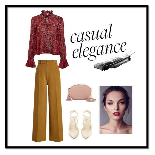 """casual but elegance"" by snursehaa on Polyvore featuring Saloni, Joseph, Valentino and MICHAEL Michael Kors"